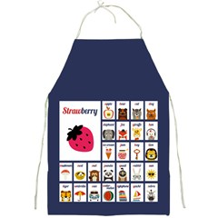 Abc Apron (blue)