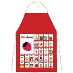 Abc Apron (red) by strawberrymilk