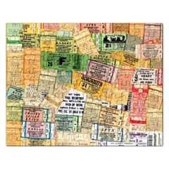 Retro Concert Tickets Jigsaw Puzzle (rectangle) by StuffOrSomething