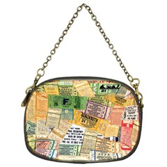 Retro Concert Tickets Chain Purse (one Side) by StuffOrSomething
