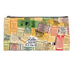 Retro Concert Tickets Pencil Case