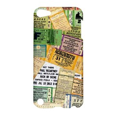 Retro Concert Tickets Apple Ipod Touch 5 Hardshell Case by StuffOrSomething