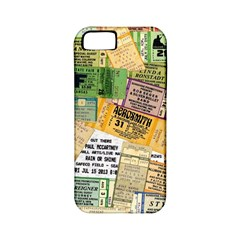 Retro Concert Tickets Apple Iphone 5 Classic Hardshell Case (pc+silicone) by StuffOrSomething