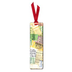 Retro Concert Tickets Small Bookmark by StuffOrSomething