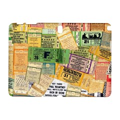 Retro Concert Tickets Samsung Galaxy Note 10 1 (p600) Hardshell Case by StuffOrSomething