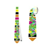 camp tie - Necktie (Two Side)