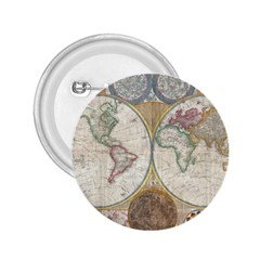 1794 World Map 2 25  Button by StuffOrSomething