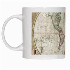1794 World Map White Coffee Mug by StuffOrSomething