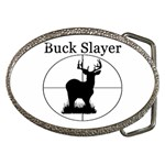 Buck Slayer Belt Buckle