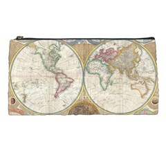 1794 World Map Pencil Case