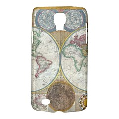 1794 World Map Samsung Galaxy S4 Active (i9295) Hardshell Case by StuffOrSomething