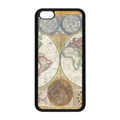 1794 World Map Apple Iphone 5c Seamless Case (black) by StuffOrSomething