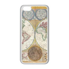 1794 World Map Apple Iphone 5c Seamless Case (white) by StuffOrSomething