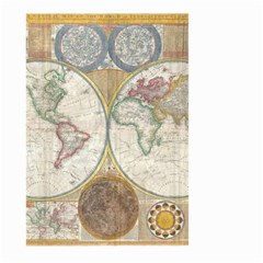 1794 World Map Large Garden Flag (two Sides) by StuffOrSomething