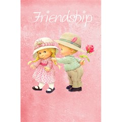 Friendship By J M  Raymond   5 5  X 8 5  Notebook   D27icmoyaq64   Www Artscow Com Front Cover