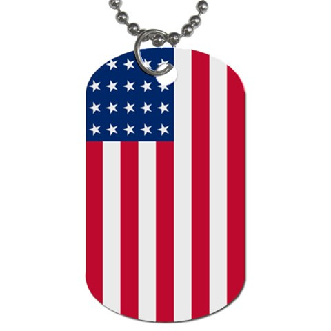 Usa By J M  Raymond   Dog Tag (one Side)   Wmkl95jk1bf4   Www Artscow Com Front