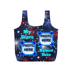 My Stars Small Recyle Bag By Joy Johns   Full Print Recycle Bag (s)   10sip9ps1tje   Www Artscow Com Front