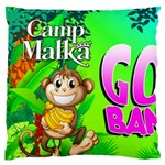 camp - throw pillow - Large Cushion Case (Two Sides)