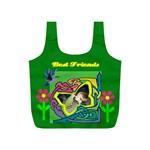 Best Friends small recyle bag, #2 - Full Print Recycle Bag (S)