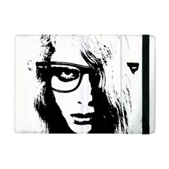 Hipster Zombie Girl Apple Ipad Mini Flip Case by chivieridesigns
