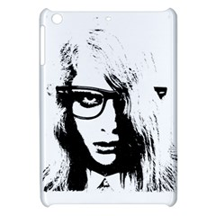 Hipster Zombie Girl Apple Ipad Mini Hardshell Case by chivieridesigns