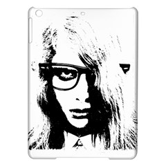 Hipster Zombie Girl Apple Ipad Air Hardshell Case by chivieridesigns