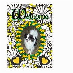 Welcome Large Garden Flag #3 By Joy Johns   Large Garden Flag (two Sides)   3qh00dk4dxgf   Www Artscow Com Front