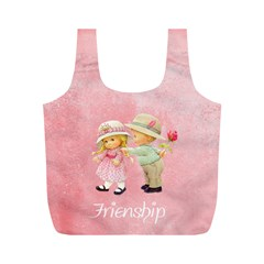 Friendship By J M  Raymond   Full Print Recycle Bag (m)   5wy3olbgv2ws   Www Artscow Com Front