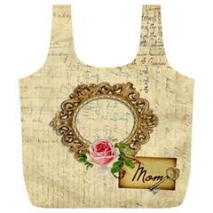 Mom By J M  Raymond   Full Print Recycle Bag (xl)   Cmc7gyhveip7   Www Artscow Com Front