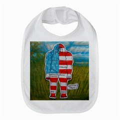 Painted Flag Big Foot Austral Bib by creationtruth