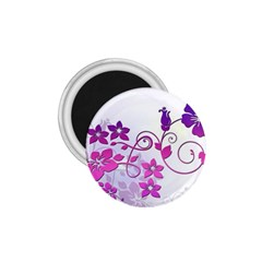 Floral Garden 1 75  Button Magnet by Colorfulart23