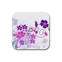Floral Garden Drink Coasters 4 Pack (Square)