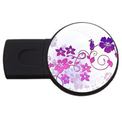 Floral Garden 2gb Usb Flash Drive (round) by Colorfulart23