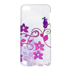 Floral Garden Apple Ipod Touch 5 Hardshell Case by Colorfulart23