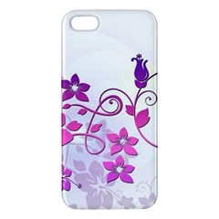 Floral Garden Apple Iphone 5 Premium Hardshell Case by Colorfulart23