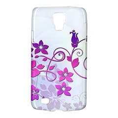 Floral Garden Samsung Galaxy S4 Active (i9295) Hardshell Case by Colorfulart23
