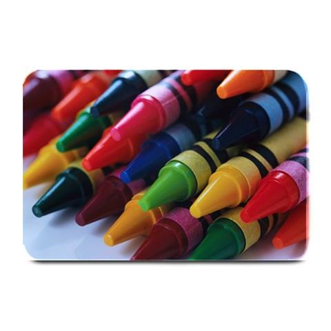 Crayons By J M  Raymond   Plate Mat   565yxrvzbnaf   Www Artscow Com 18 x12 Plate Mat - 1