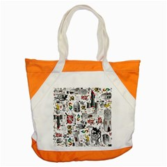 Medieval Mash Up Accent Tote Bag by StuffOrSomething