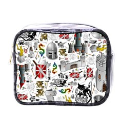 Medieval Mash Up Mini Travel Toiletry Bag (one Side) by StuffOrSomething