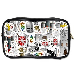 Medieval Mash Up Travel Toiletry Bag (one Side) by StuffOrSomething