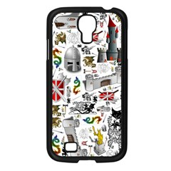 Medieval Mash Up Samsung Galaxy S4 I9500/ I9505 Case (black) by StuffOrSomething