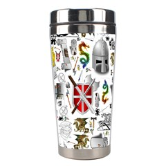Medieval Mash Up Stainless Steel Travel Tumbler by StuffOrSomething