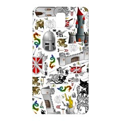 Medieval Mash Up Samsung Galaxy Note 3 N9005 Hardshell Back Case by StuffOrSomething