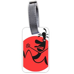Running Man Luggage Tag (One Side) by StuffOrSomething