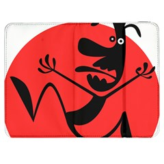 Running Man Samsung Galaxy Tab 7  P1000 Flip Case by StuffOrSomething