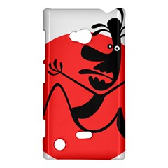 Running Man Nokia Lumia 720 Hardshell Case by StuffOrSomething