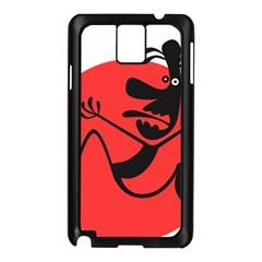 Running Man Samsung Galaxy Note 3 N9005 Case (black)