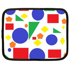 Random Geometrics Netbook Sleeve (xl) by StuffOrSomething