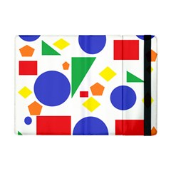 Random Geometrics Apple Ipad Mini Flip Case by StuffOrSomething