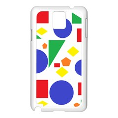 Random Geometrics Samsung Galaxy Note 3 N9005 Case (white) by StuffOrSomething